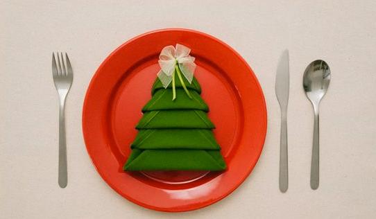 Servilleta Navidad