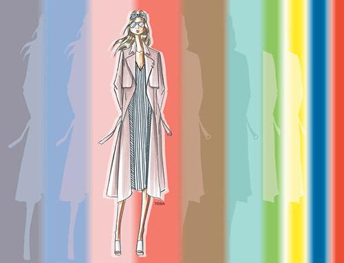 Los colores de moda