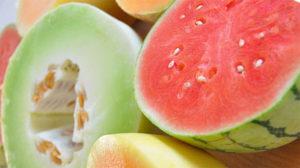 cómo elegir una buena sandía y melón