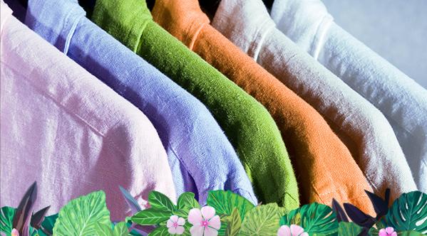 cómo lavar prendas de lino
