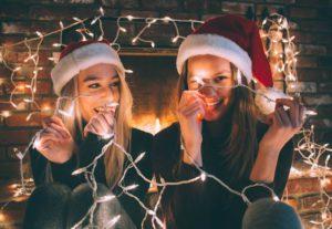 vestirse en navidad
