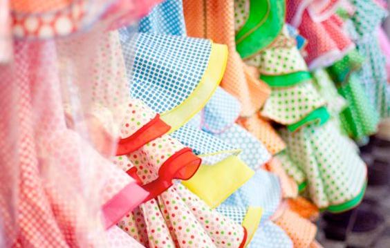 lavar los trajes de flamenca