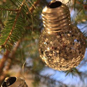 decoración navideña económica y reciclada