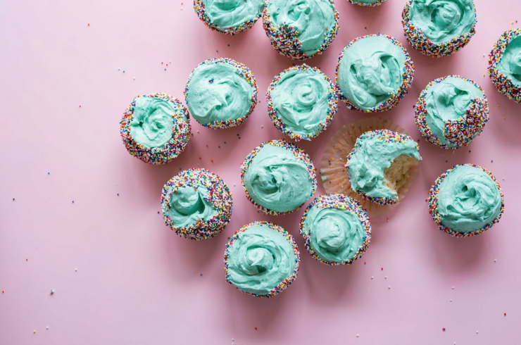 receta de cupcakes