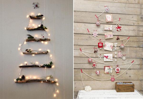 Cómo improvisar una decoración para Navidad