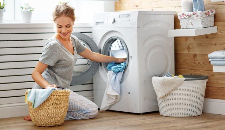 Símbolos de la lavadora