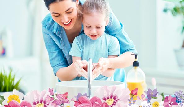 cómo hacer que los niños se laven las manos