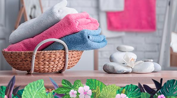 toallas suaves